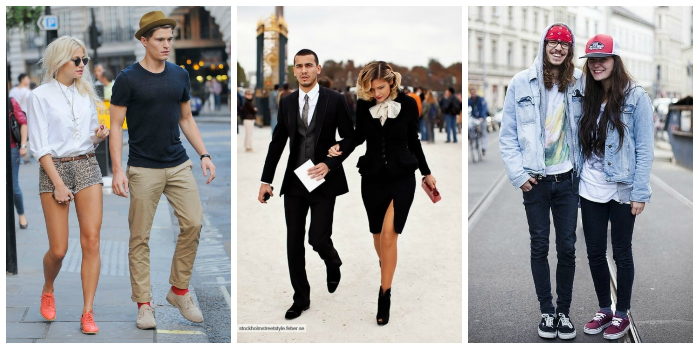 street couple fashion
