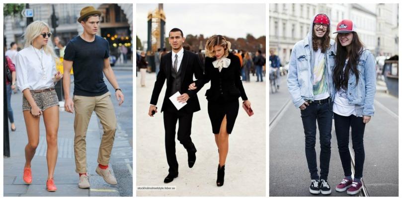 street couple fashion