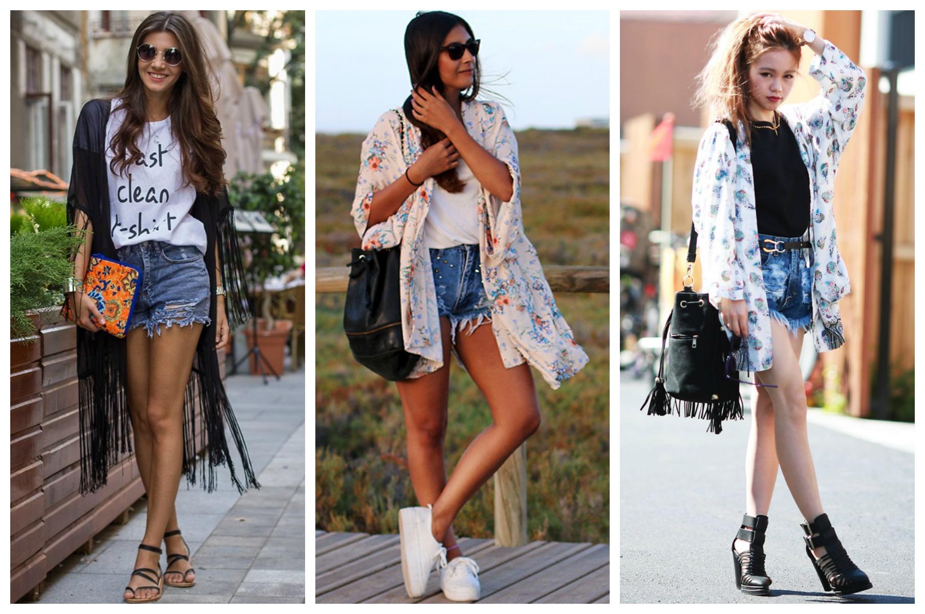 Kimono Shorts Jeans