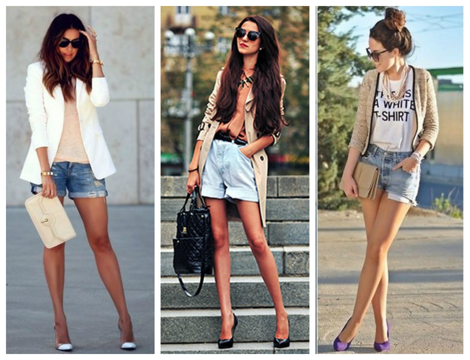 Scarpin + shorts 2