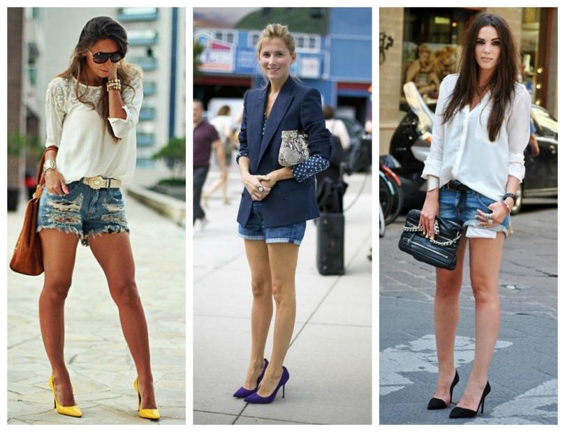 Scarpin + Shorts