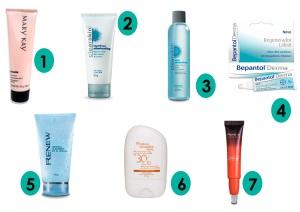 Cuidado das peles
